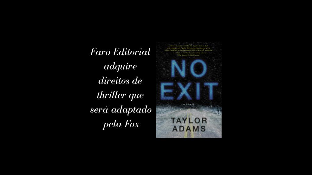 Faro Editorial adquire direitos de thriller que será adaptado pela Fox