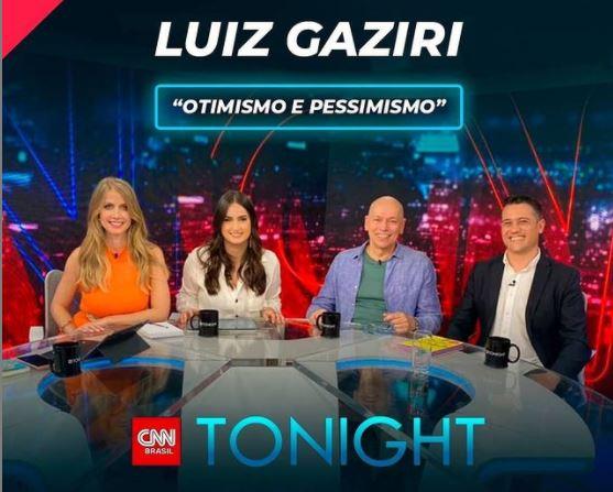 Luiz Gaziri no CNN Tonight