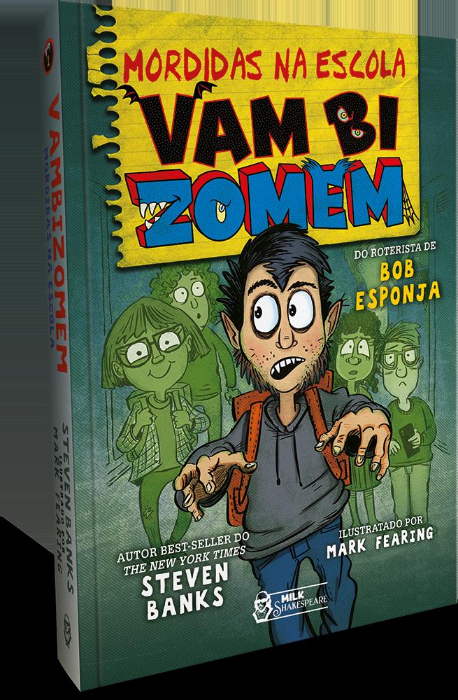 Faro Editorial lança este mês livro de roteirista de Bob Esponja