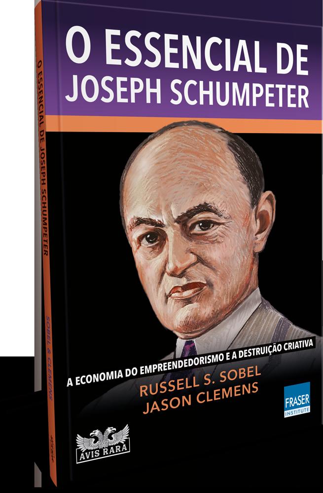 """Faro Editorial lança este mês """"O essencial de Joseph Schumpeter"""""""