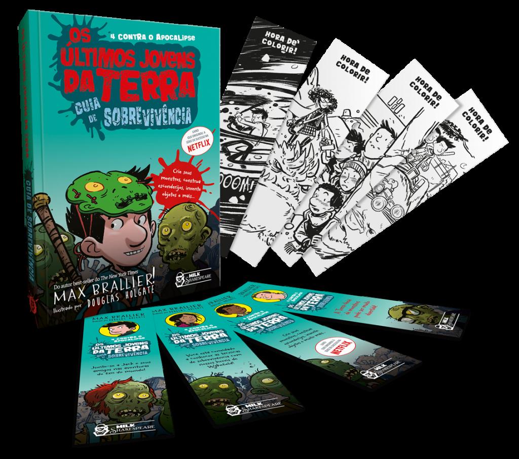"""Faro Editorial lança livro interativo da série """"Os últimos jovens da Terra"""""""