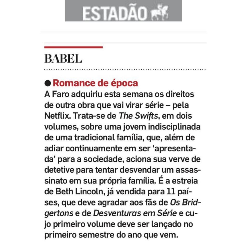Netflix compra direitos de nova série depois do sucesso Bridgerton